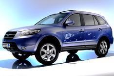 Hyundai's hybrid Santa Fe