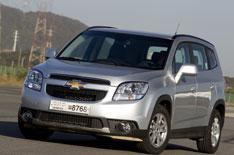 Chevrolet Orlando driven