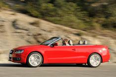 Audi A5 Cabriolet on video