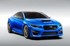 Subaru WRX Concept photos leak