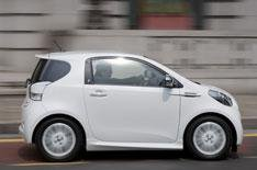Aston Martin Cygnet driven