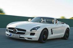 Mercedes SLS AMG Roadster unveiled