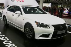 New 2012 Lexus LS revealed