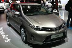 New 2013 Toyota Auris prices revealed