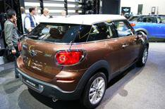 New Mini Paceman revealed
