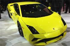 Lamborghini Gallardo unveiled in Paris