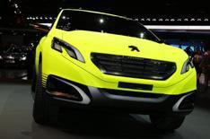 2012 Paris motor show: Peugeot 2008