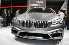 BMW Concept Active Tourer unveiled