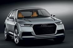 Audi Crosslane Coupe SUV revealed