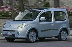 Renault Kangoo Be Bop Z.E.  the basics
