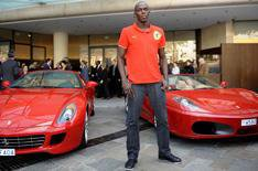 Olympic champion Usain Bolt's dream car