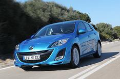 New Mazda 3 driven