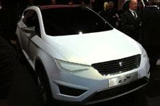 Seat IBX on video at Geneva show