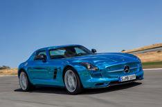 Mercedes SLS AMG Electric Drive review