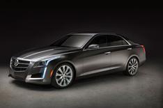 New Cadillac CTS at New York motor show