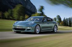 Diesel Porsche Panamera here in August