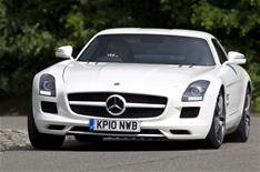 Merc SLS: British design success story