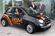 BSM ditches Corsas for Fiat 500s