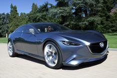 Mazda Shinari concept car revealed
