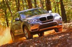 BMW X3: first UK test