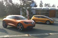 Renault Captur and R-Space driven