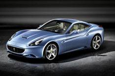 Ferrari California  in blue!