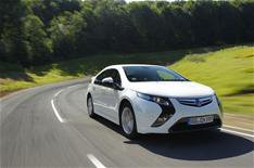 Is the Vauxhall Ampera 100% electric?