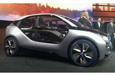 BMW unveils i concept cars