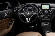 Mercedes B-Class interior revealed
