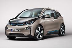 BMW i3 electric car revealed