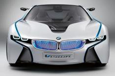 BMW Vision hybrid concept on show