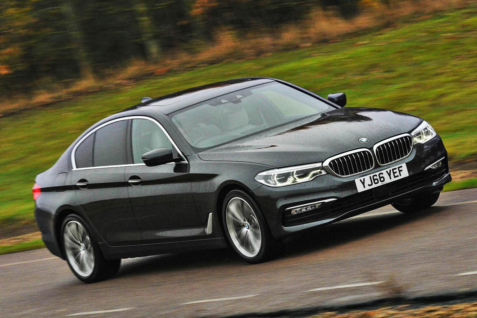 2017 BMW 5 Series reviewed on video