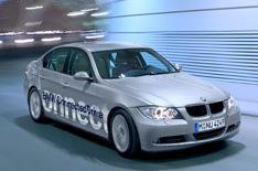 BMW's in-car safety system