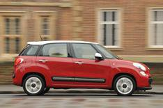 2013 Fiat 500L exclusive viewing