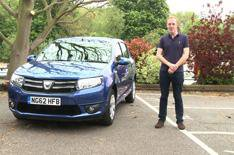 Our cars: Dacia Sandero video update