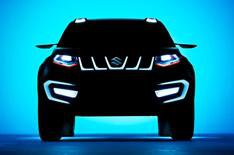 New Suzuki SUV teased ahead of Frankfurt