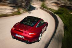 Porsche 911 Targa details