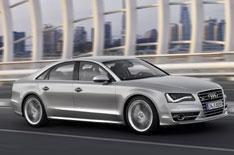 Audi S8 at Frankfurt motor show
