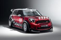 Mini launches world rally car in Paris