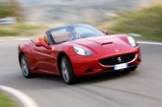 Stop-start Ferrari California driven