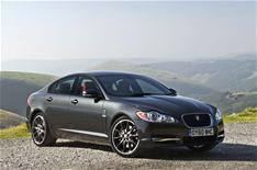 Jaguar XF joins the Black Pack