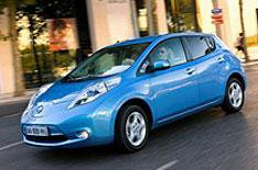 First Nissan Leaf landfall today