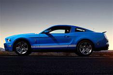 10. Shelby Mustang GT500