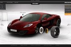 Design your own McLaren supercar