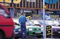 Car dealerships in financial trouble