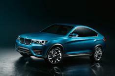 BMW X4 concept car pictures leak