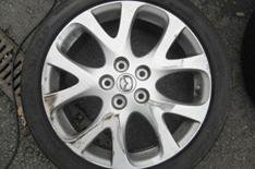 Our cars update: Mazda 6 wheels