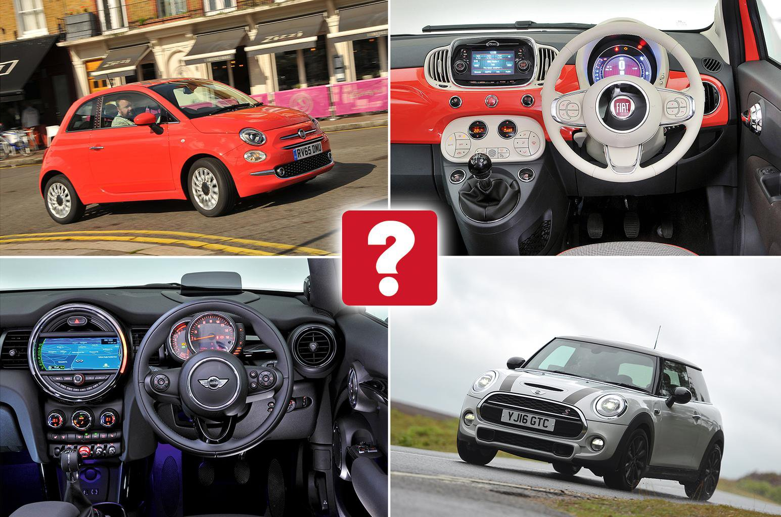 New Fiat 500 Vs Used Mini Cooper Which Is Best What Car