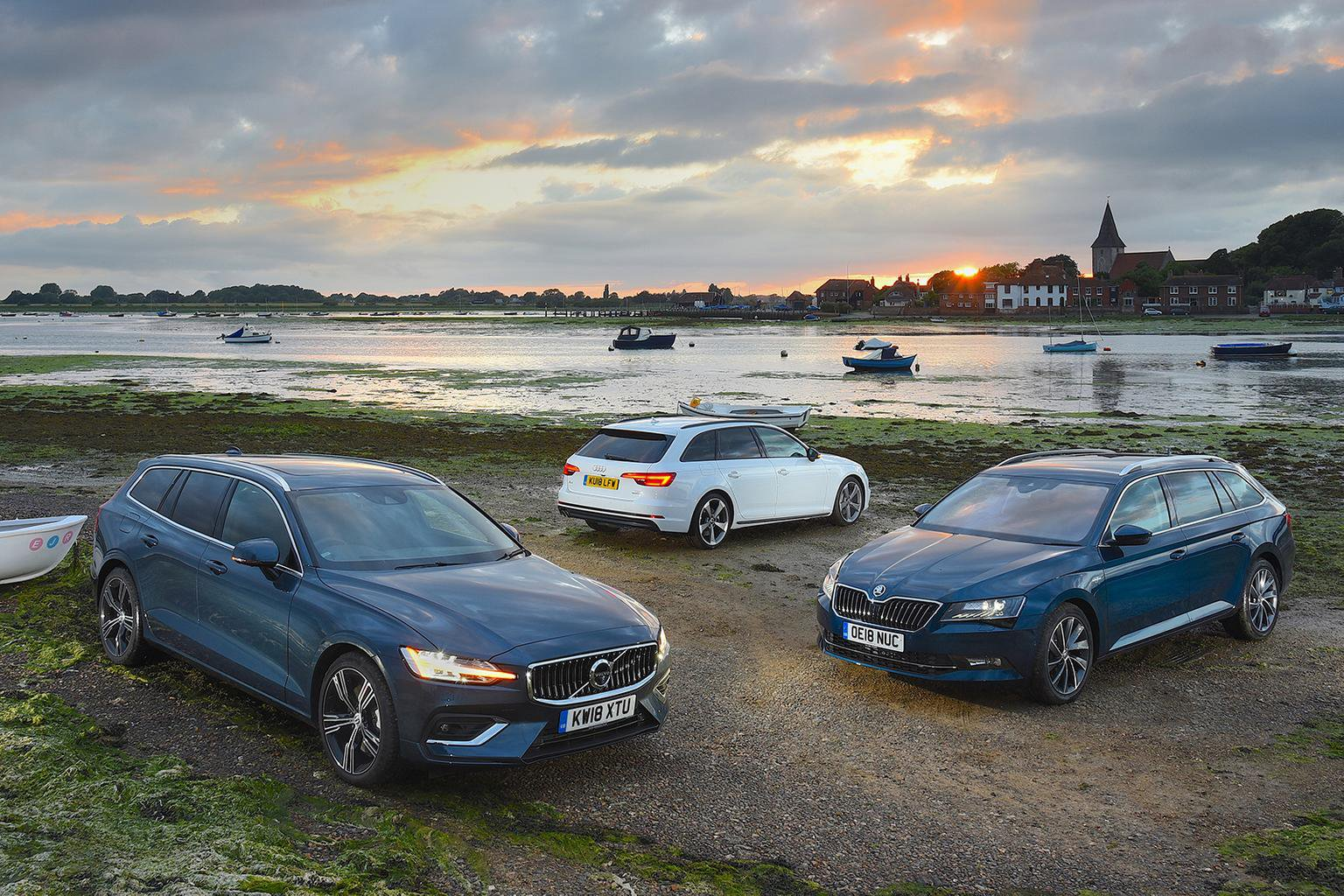 New Volvo V60 vs Audi A4 Avant vs Skoda Superb Estate