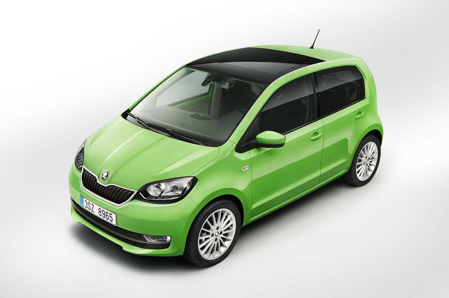 Facelifted Skoda Citigo revealed